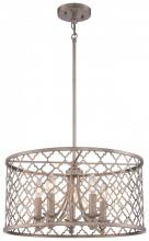 Minka-Lavery 4165-584 - 5 Light Drum Chandelier