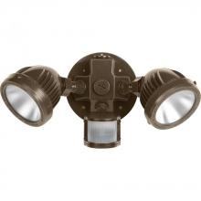 Progress P6341-20-30K - Two-Light Security/Flood Light With Motion Sensor