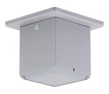 Eglo 94184A - 1x3.7W LED Outdoor Ceiling Light w/ Silver Finish