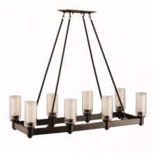 Kichler 2943OZ - Linear Chandelier 8Lt