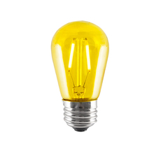 Bulbrite 776562 - LED2S14/YLW/FIL