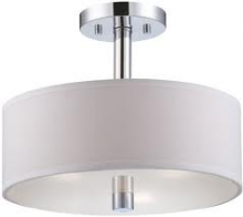Designers Fountain 84511-CH - Cordova Semi-Flush