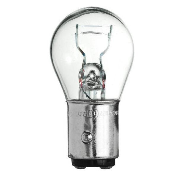 28.8 watt miniature; S8; 1200 average rated hours; DC Indexed Bayonet base; 12.8 volts
