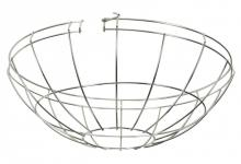 Satco Products Inc. 80/1979 - Wire Cage for Warehouse Shades Fits Items: 76-283, 76-284, 76-660, 76-661, 76-662, 76-663 Width: 15