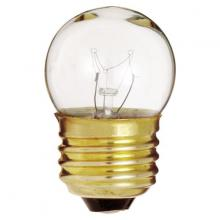 Satco Products Inc. S3606/TF - 7.5 watt S11 Incandescent; Clear; 2500 average rated hours; 40 lumens; Medium base; 120 volts; Shatt