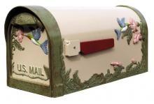 Special-Lite SHB-1004-NAT - SHB-1004-NAT  Hummingbird Horizontal Mailbox in Natural Color