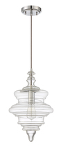 Jeremiah P600CH1 - 1 Light Mini Pendant with Cord in Chrome