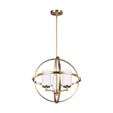 Sea Gull 3124603-848 - Three Light Chandelier