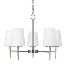 Sea Gull 3140405-962 - Five Light Chandelier