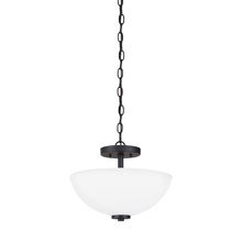 Sea Gull 77160-839 - Two Light Semi-Flush Convertible Pendant