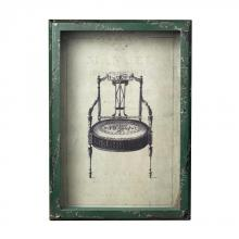 Sterling Industries 128-1027 - Picture Frame With French Antique Chair Print