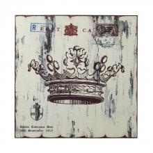 Sterling Industries 129-1031 - White Crown Print Wall D