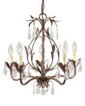 World Imports WI8102562 - Berkley Square 5-Light Weathered Bronze Chandelier