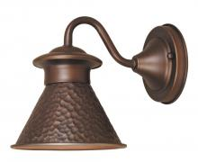 World Imports WI9002S86 - Dark Sky Essen 1-Light Outdoor Antique Copper Short-Arm Wall Lamp