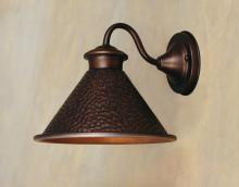 World Imports WI9003S86 - Dark Sky Essen 1-Light Outdoor Antique Copper Short Arm Wall Lamp