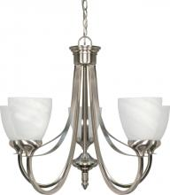 "Nuvo 60-585 - Triumph 5 Light 24"" Chandelier"