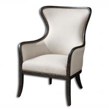 Uttermost 23073 - Uttermost Sandy Wing Back Armchair